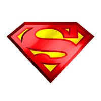 superman logo - superman icon - best toy store at victoria pop toys