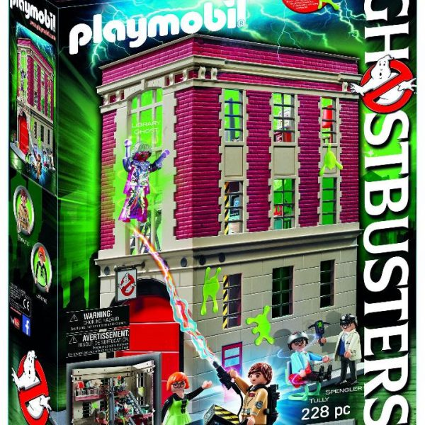 Playmobil Ghostbusters 9219 Firehouse Playset - image GB_9219_HQ-600x600 on https://pop.toys