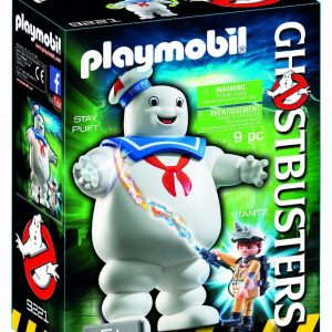 Playmobil Ghostbusters 9221 Stay Puft Marshmallow Man - Stay Puft Ghostbusters action figure product front box playmobil - pop toys