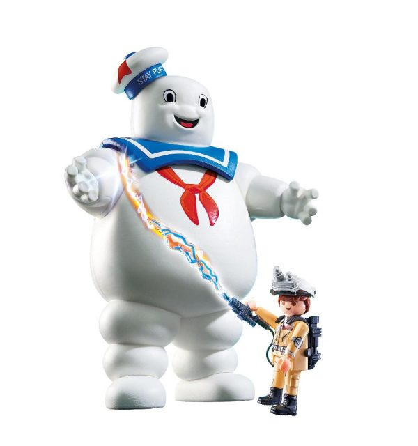 Playmobil Ghostbusters 9221 Stay Puft Marshmallow Man - Stay Puft Ghostbusters action figure product inclusion playmobil - pop toys