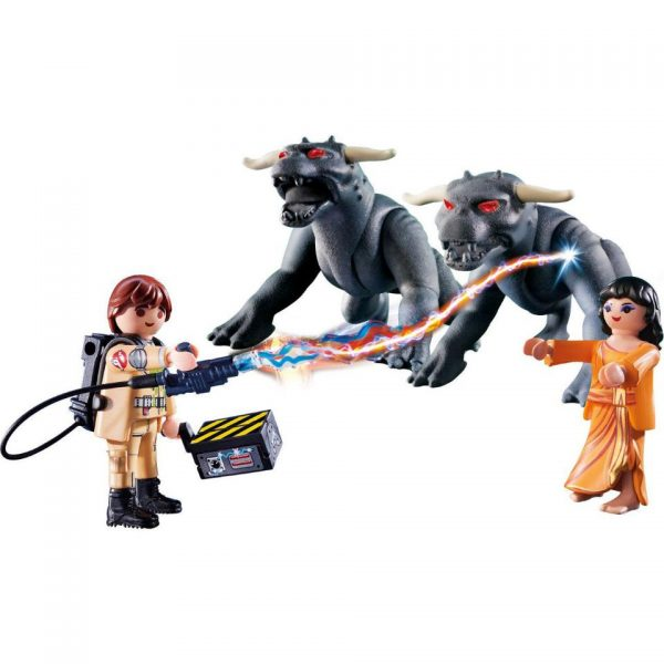 Playmobil Ghostbusters 9223 Peter Venkman, Zuul &; Terror Dogs - ghostbusters product demo playmobil - pop toys
