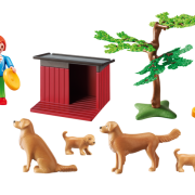Playmobil Country 6134 Golden Retrievers with Toy - image 6134_goldenretrievers_loose-180x180 on https://pop.toys