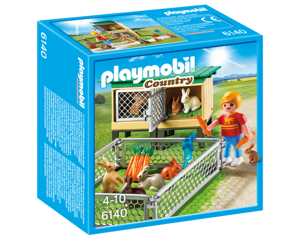 Playmobil Country 6140 Rabbit Pen with Hutch - image 6140_rabbit_box_front-600x490 on https://pop.toys