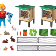 Playmobil Country 6140 Rabbit Pen with Hutch - image 6140_rabbit_hutch_loose-180x180 on https://pop.toys
