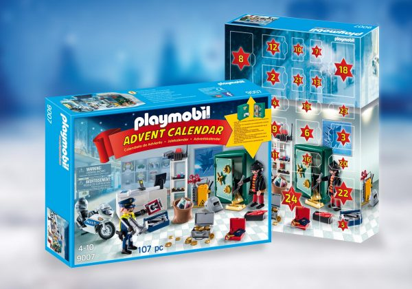 Playmobil Advent Calendar 9007 Jewel Thief Police Operation - Playmobil Advent Calendar - buy pop toys
