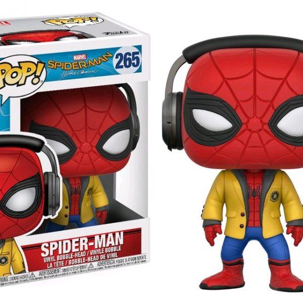 Spider-Man Homecoming Pop Vinyl: Spider-Man with headphones #265 - image Spider-Man-Homecoming-Spider-Man-Jacket-POP-GLAM-600x600 on https://pop.toys