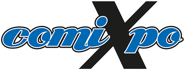 comiXpo Logo - pop toys on tour - best toys - pop toys