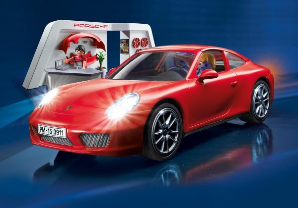 Playmobil 3911 Porsche 911 Carrera S with Lights and Showroom - Porshe 911 carrera s product details playmobil - pop toys
