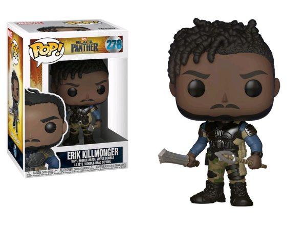 Black Panther Movie Pop Vinyl: Erik Killmonger #278 - killmonger action figure pop vinyl avengers - pop toys