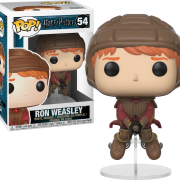 Beauty & the Beast Movie Pop Vinyl: Beast #243 - image harry-potter-ron-weasley-on-broom-54-180x180 on https://pop.toys