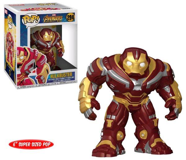 Avengers Infinity War Pop Vinyl Hulkbuster 6″ #294 Marvel - hulkbuster action figure pop vinyl avengers - pop toys