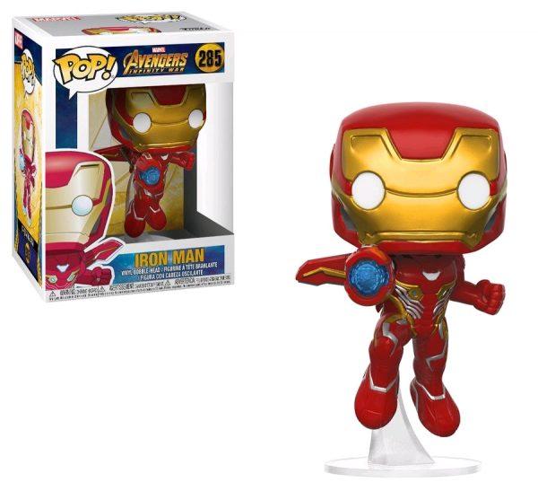 Avengers Infinity War Pop Vinyl Iron Man #285 Marvel - iron man action figure pop vinyl avengers - pop toys