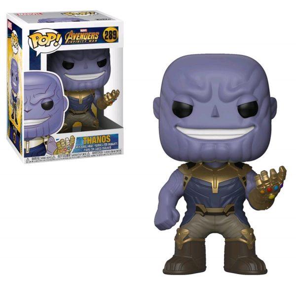 Avengers Infinity War Pop Vinyl Thanos 3.75″ #289 Marvel - thanos action figure pop vinyl avengers - pop toys