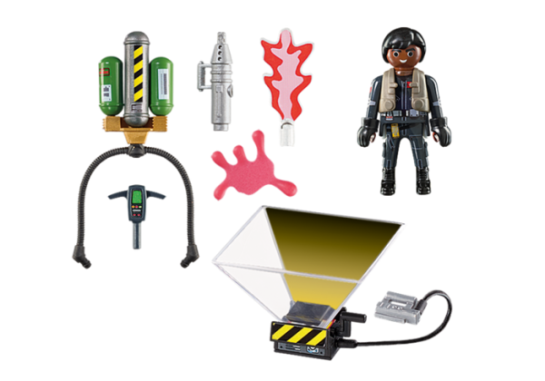Playmobil Ghostbusters 2: 9346 9347 9348 9349 Set of 4 figures - 9349 ghostbusters product box detail playmobil - pop toys