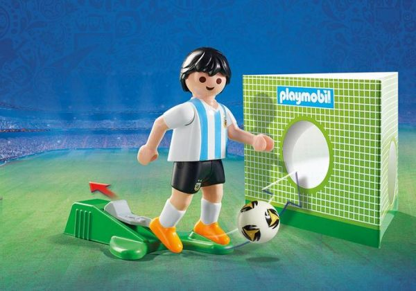 Playmobil 9508 FIFA World Cup Argentina National Player Soccer - argentina national soccer player product details playmobil - pop toys