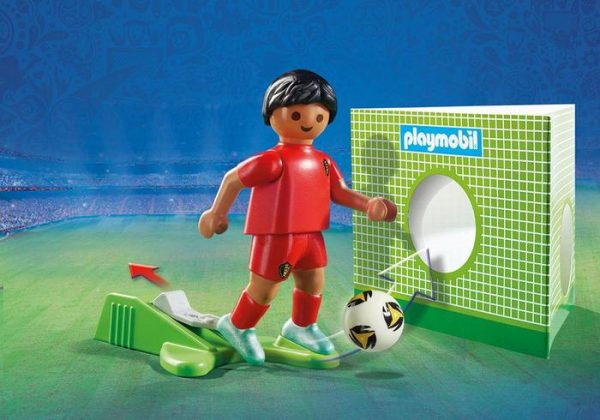 Playmobil 9509 FIFA World Cup Belgium National Player Soccer - belgium national soccer player product details playmobil - pop toys