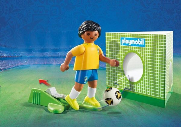 Playmobil 9510 FIFA World Cup Brazil National Player Soccer - brazil soccer player product details playmobil - pop toys