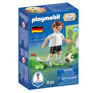 Playmobil 9511 FIFA World Cup Germany National Team Player Soccer - germany soccer player product front box playmobil - pop toys