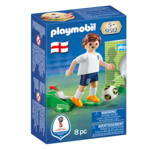 Playmobil 9512 FIFA World Cup England National Team Player Soccer - england soccer player product box front playmobil - pop toys