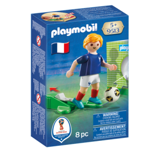 Playmobil 9513 FIFA World Cup France National Team Player Soccer - france soccer player product box front playmobil - pop toys