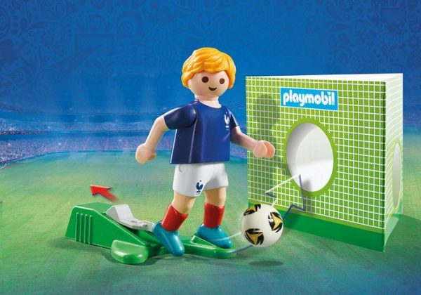 Playmobil 9513 FIFA World Cup France National Team Player Soccer - france soccer player product details playmobil - pop toys