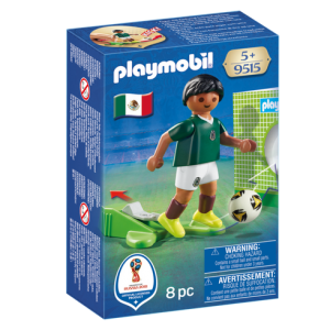 Playmobil 9515 FIFA World Cup Mexico National Team Player Soccer - mexico soccer player product box front playmobil - pop toys