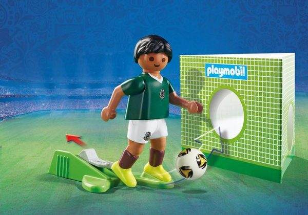Playmobil 9515 FIFA World Cup Mexico National Team Player Soccer - mexico soccer player product details playmobil - pop toys