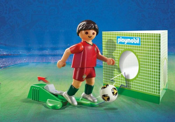 Playmobil 9516 FIFA World Cup Portugal National Team Player Soccer - portugal soccer player product details playmobil - pop toys