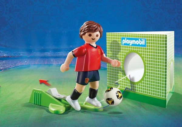 Playmobil 9517 FIFA World Cup Spain National Team Player Soccer - spain soccer player detail playmobil - pop toys