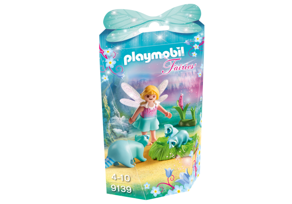 Playmobil Fairies 9139 Fairy Girl with Raccoons Front