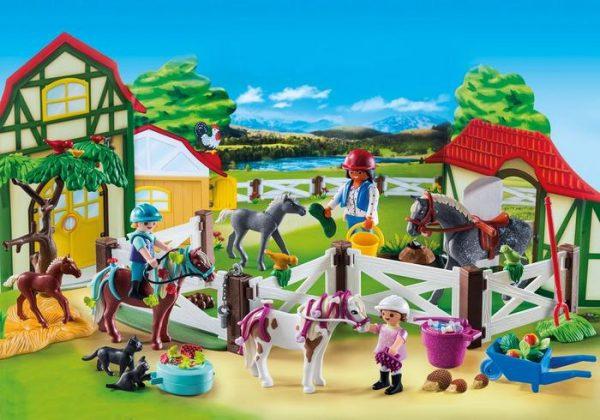 Playmobil Advent Calendar 9262 Horse Farm – Christmas - playmobil advent calendar sample - playmobil - pop toys