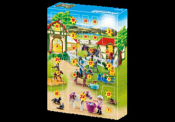 Playmobil Advent Calendar 9262 Horse Farm – Christmas - playmobil advents calendar extra products - playmobil - pop toys