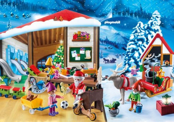Playmobil Advent Calendar 9264 Santa's Workshop – Christmas - advent calendar playmobil product extra 1 - playmobil - pop toys