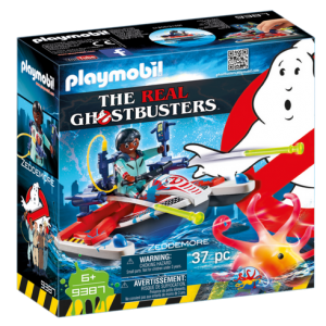 Playmobil Real Ghostbusters 9387 Zeddemore with Aqua Scooter - ghostbusters playmobil - playmobil - pop toys