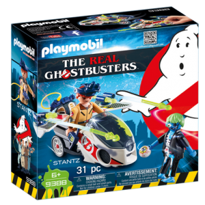 Playmobil Real Ghostbusters 9388 Ray Stantz with Skybike - ghostbusters playmobil - playmobil - pop toys