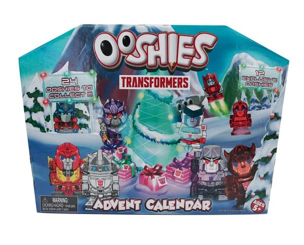 Ooshies Transformers Advent Calendar 2018