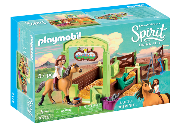 Playmobil Spirit Lucky and Spirit box
