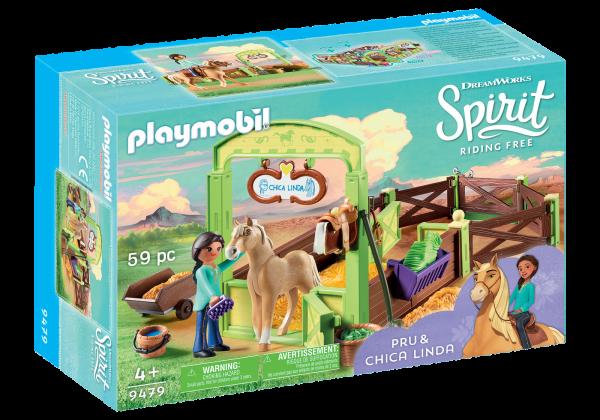 Playmobil Spirit Pru and Chica Linda Box