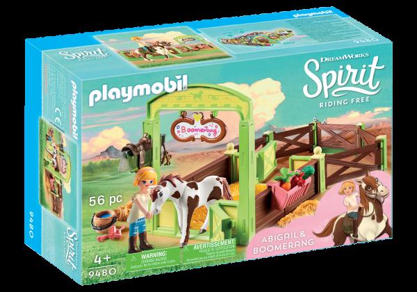 Playmobil Abigail and Boomerang Box