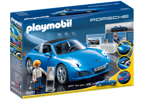 blue porsche pop toys