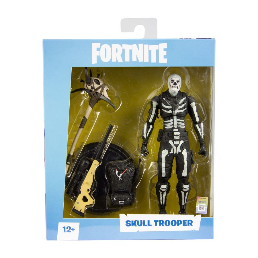 Fortnite Skull Trooper 7 Quot Figure By Mcfarlane Toys Pop Toys