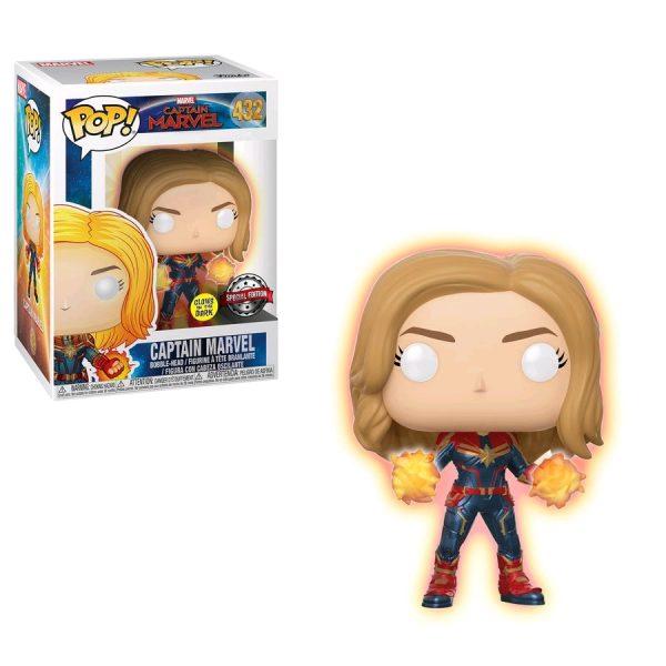 Captain-Marvel-432-Unmasked-Fire-Glow-Pop!