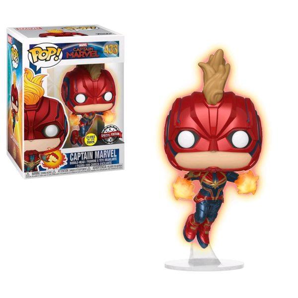 Captain-Marvel-433-Masked-Flight-Glow-Pop!