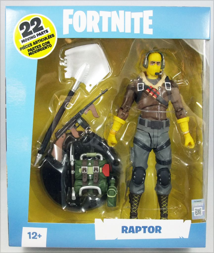 Fortnite Raptor 7 Quot Figure By Mcfarlane Toys Pop Toys