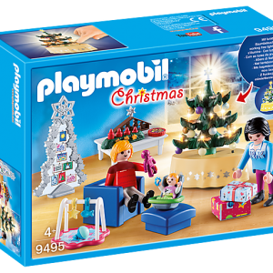 Playmobil Advent Calendar 9391 Christmas in the Forest 1.2.3 - image 9495_Christmas-Living-Room-300x300 on https://pop.toys