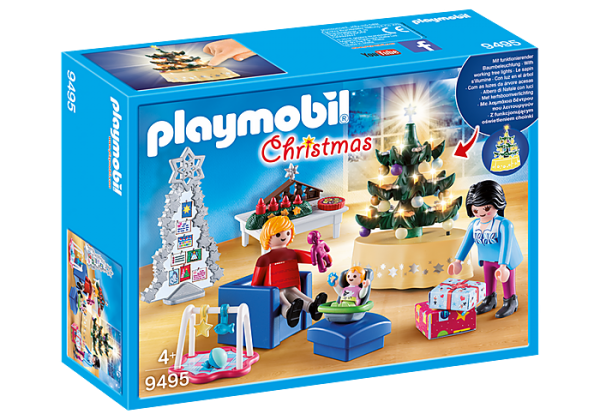 Playmobil Christmas 9495 Xmas Living Room - image 9495_Christmas-Living-Room-600x420 on https://pop.toys
