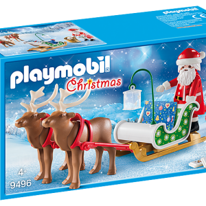 Playmobil Fairies 9140 Fairy Girl with Animal Friends - image 9496_Santas-Sleigh-with-Reindeer_box-300x300 on https://pop.toys