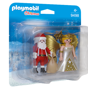 Playmobil Fairies 9140 Fairy Girl with Animal Friends - image 9498_Santa-and-Christmas-Angel_box-300x300 on https://pop.toys