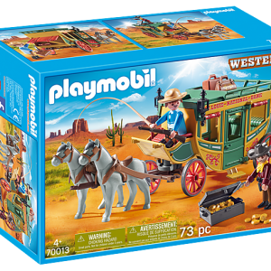 Playmobil Dino Explorers 9429 Hidden Temple with T-Rex - image 70013_Western-Stagecoach-300x300 on https://pop.toys