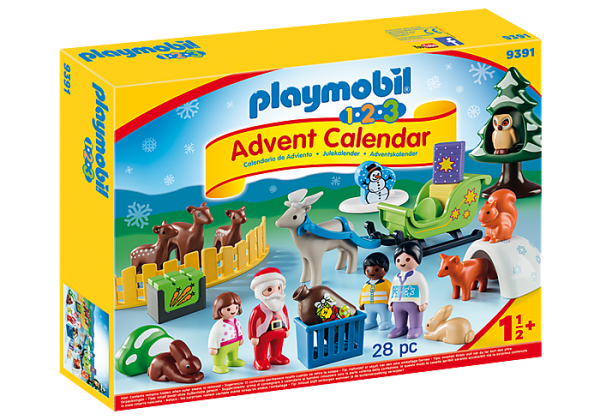 Playmobil Advent Calendar 9391 Christmas in the Forest 1.2.3 - image 9391_XmasintheForest_Advent-600x420 on https://pop.toys